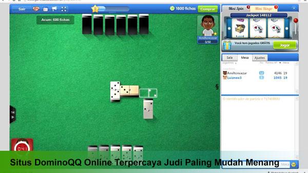 Situs DominoQQ Online Terpercaya Judi Paling Mudah Menang